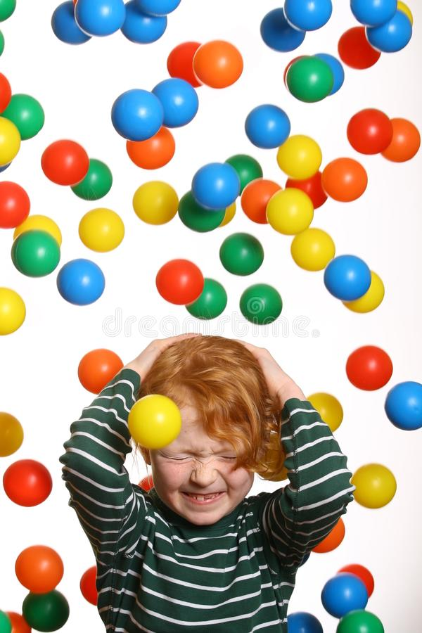 Funny kid stock photography