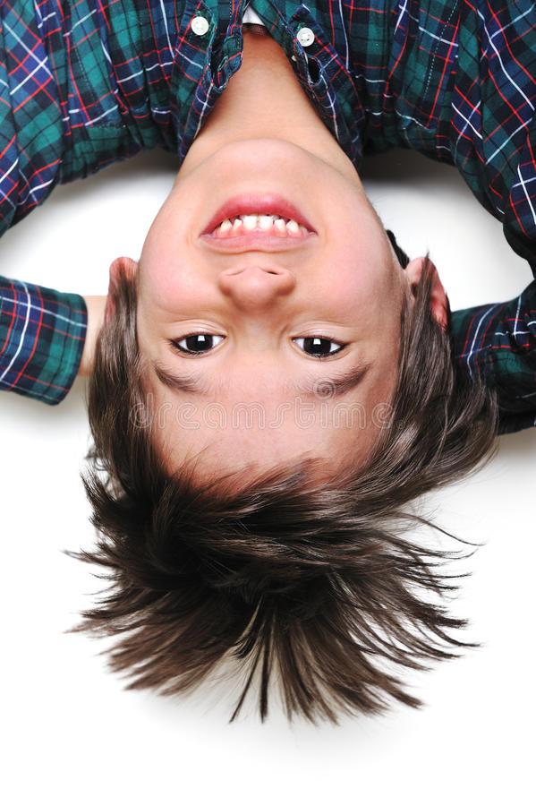 Funny Kid. An a funny kid boy stock photography