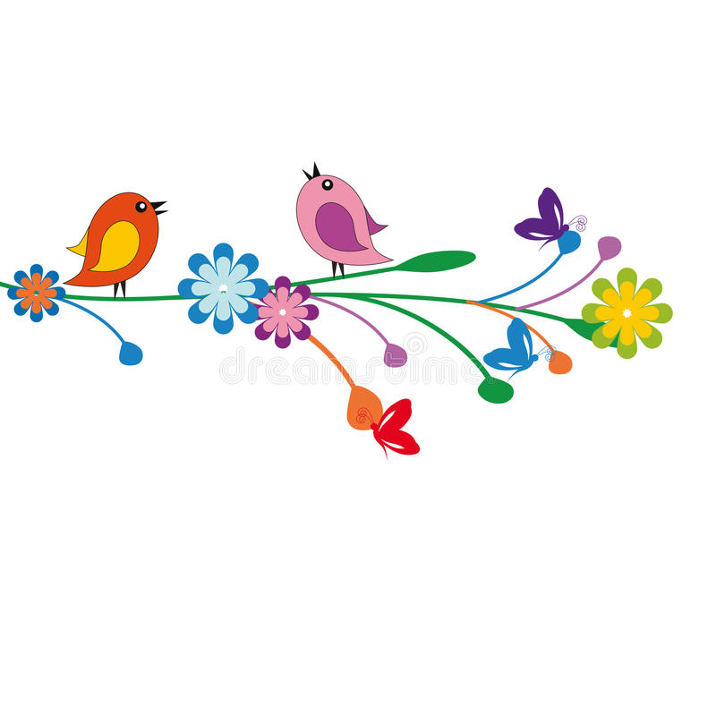 Download Funny kids background stock vector. Image of bloom, flying - 24378115