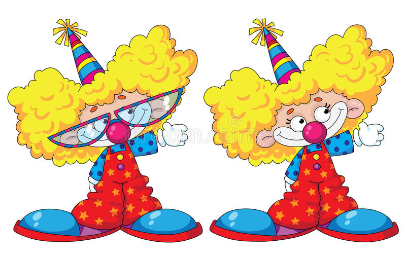 Download Funny Kids Clowns Stock Photo - Image: 18854810