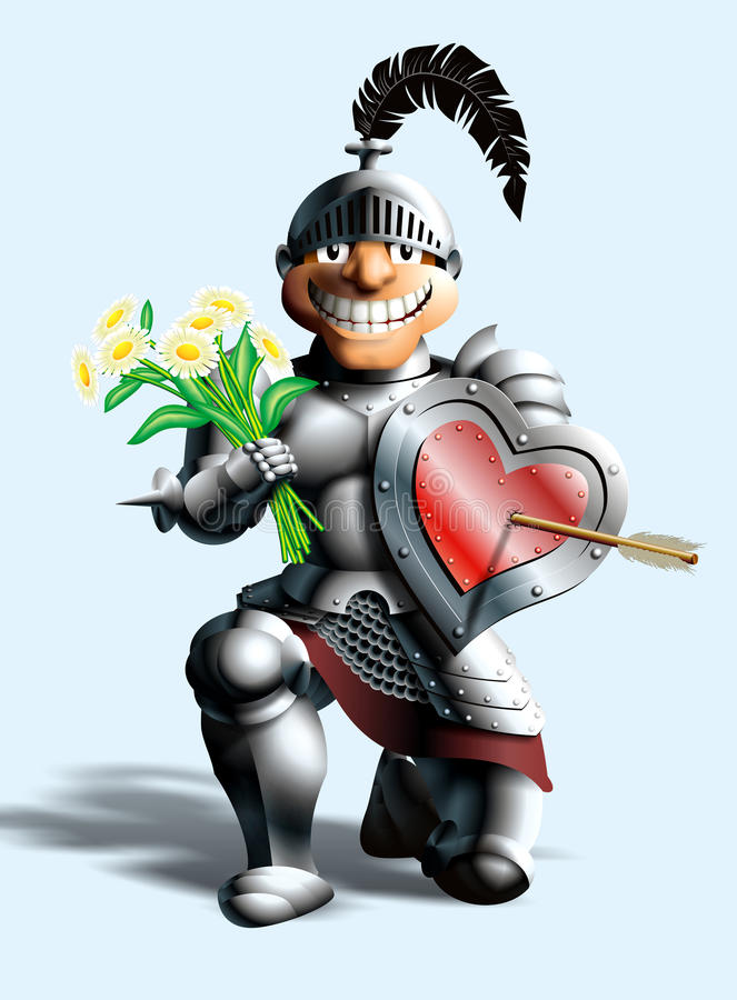 Download Funny knight stock illustration. Image of noble, funnily - 12007662