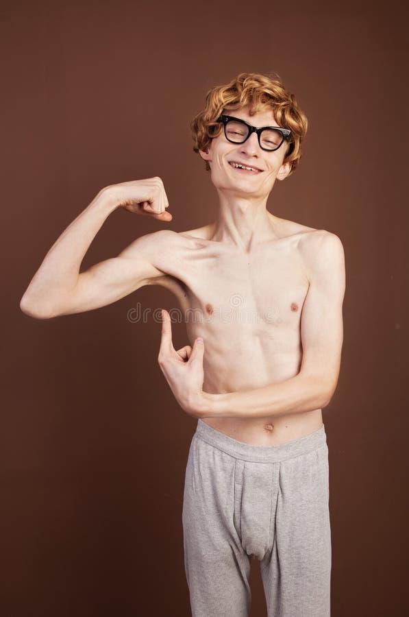 Funny macho guy stock image. Image of hilarious