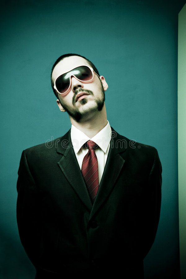 Download Funny man with attitude stock image. Image of sunglasses - 2509173