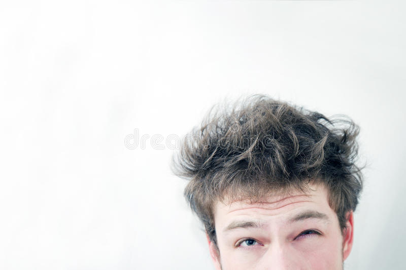 Download Ishhh... Messy Hairs !! Royalty Free Stock Photos - Image: 29701468