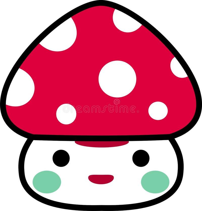 Download Funny mushroom stock vector. Image of medicine, grass - 7777299