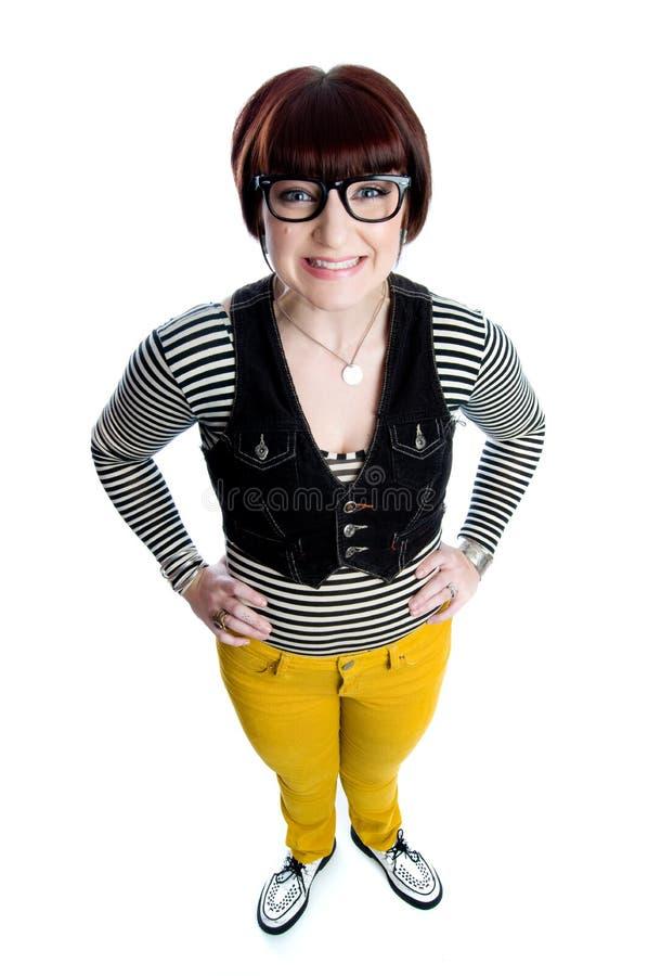 Free Funny Nerd Girl Royalty Free Stock Image - 12527786