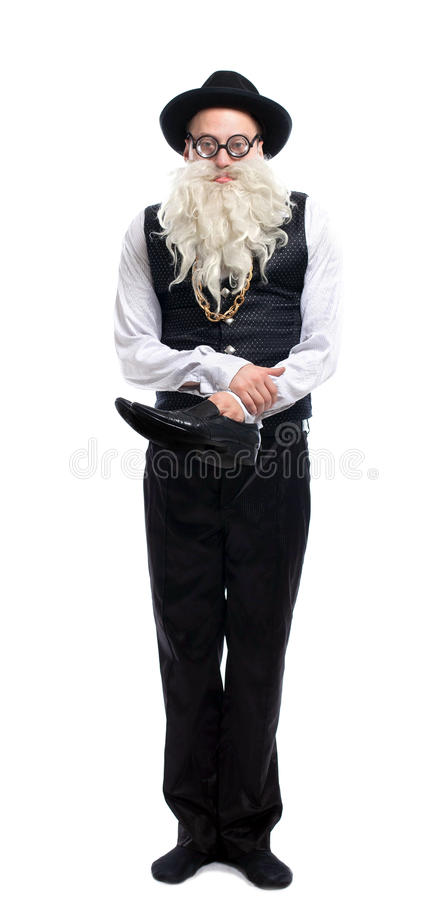 Free Funny Old With Shoe Royalty Free Stock Photography - 28728377