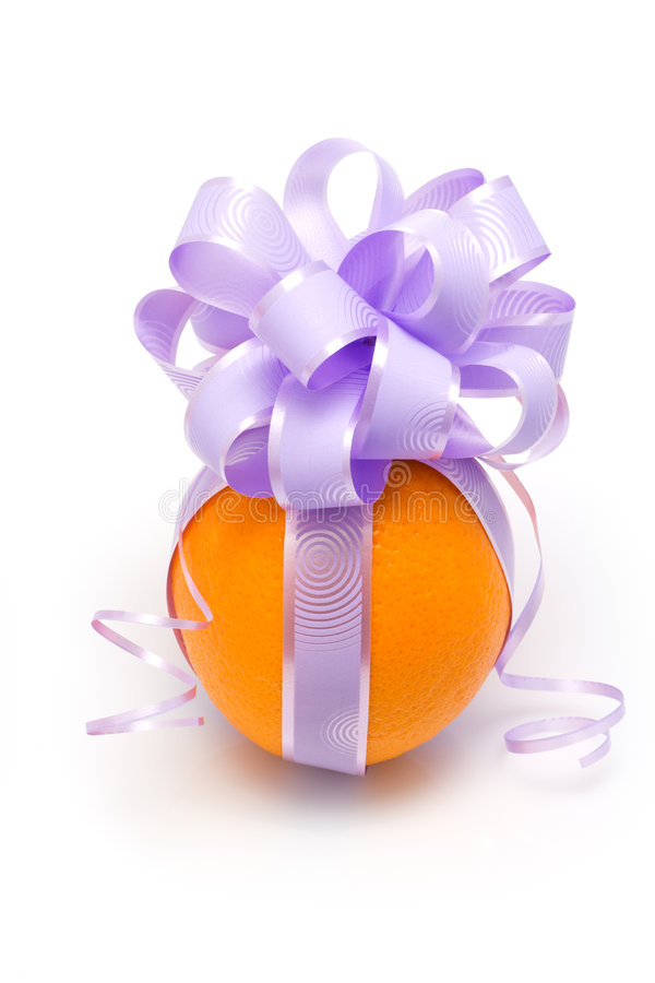 Funny orange stock photography