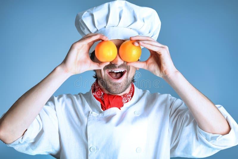 Funny oranges royalty free stock image