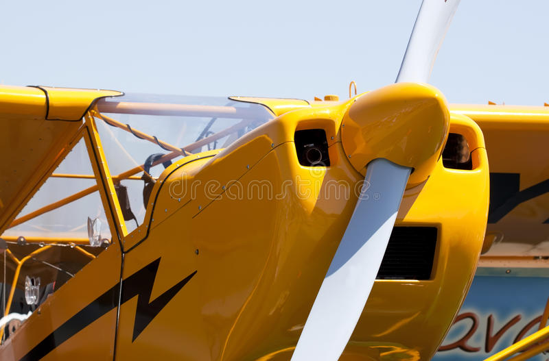 Download Funny plane stock image. Image of aviation, classic, front - 25873657