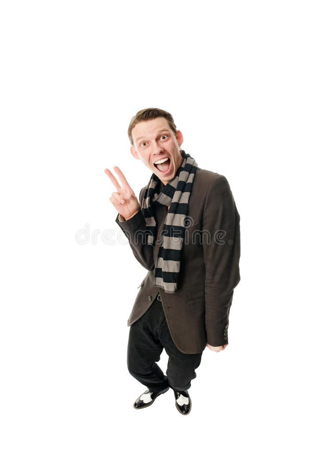 Funny portrait royalty free stock image