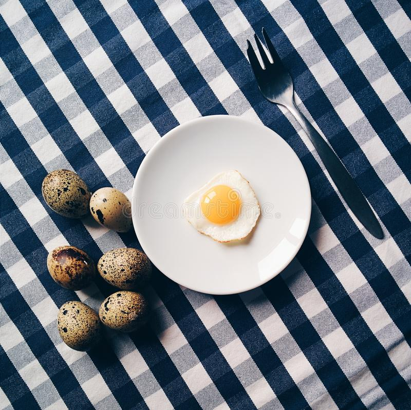 Funny Quail Egg Breakfast Free Public Domain Cc0 Image