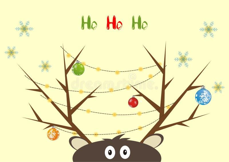 Funny Reindeer Stock Photography