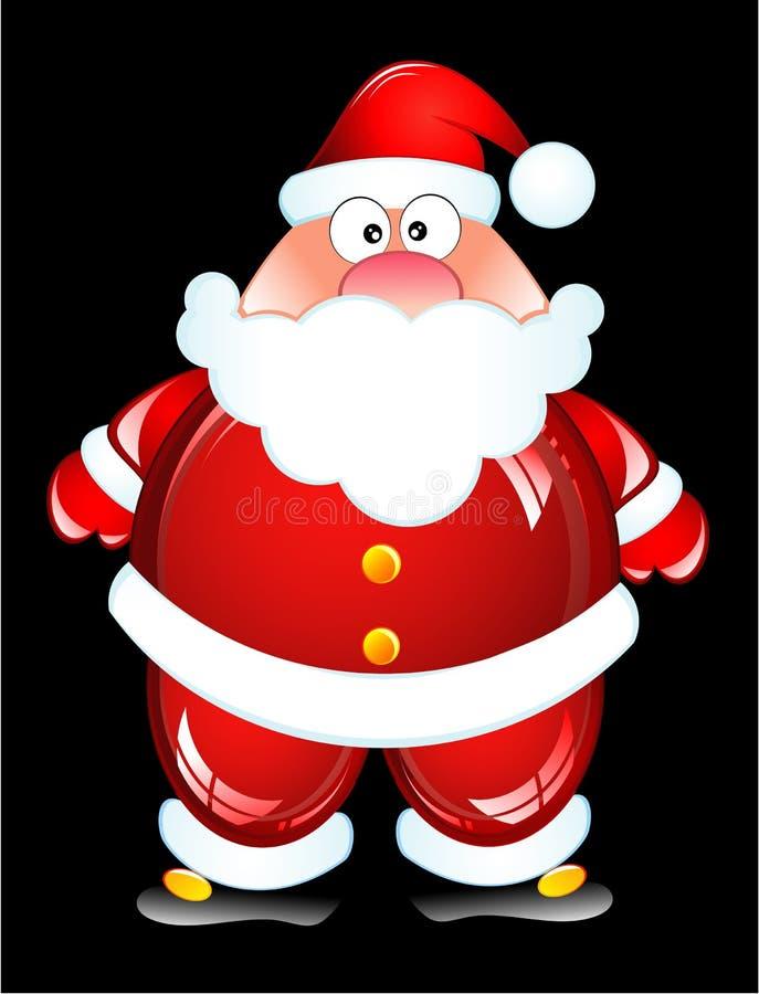 Download Funny Santa stock vector. Image of christmas, comic, caribou - 7478575