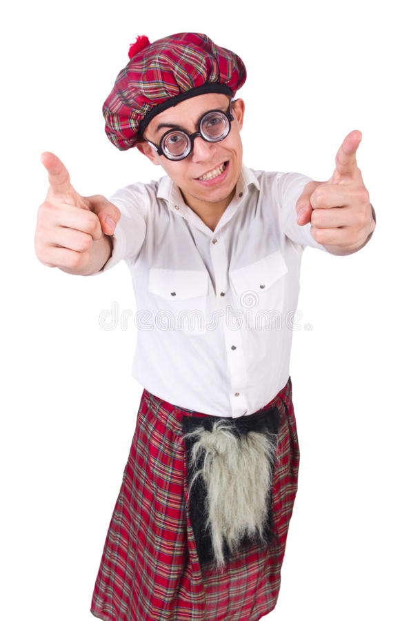 Download Funny scotsman stock image. Image of humor, celtic, humour - 32480853