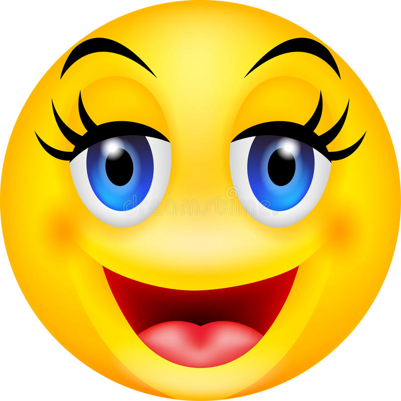 Free Funny Smile Emoticon Royalty Free Stock Images - 30334639