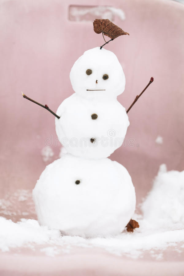 Download Funny snowman stock photo. Image of cold, christmas, snow - 28137300