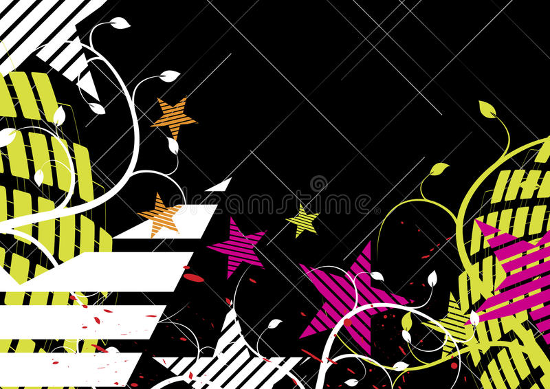 Download Funny star background stock illustration. Image of pattern - 25618786