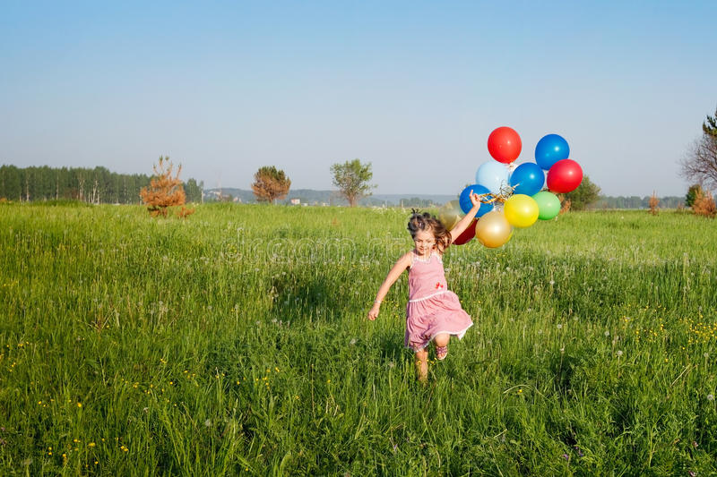 Download Funny summer stock image. Image of carefree, nature, little - 25745231