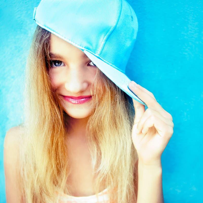 Download Funny teen girl stock photo. Image of human, baseball - 31709098