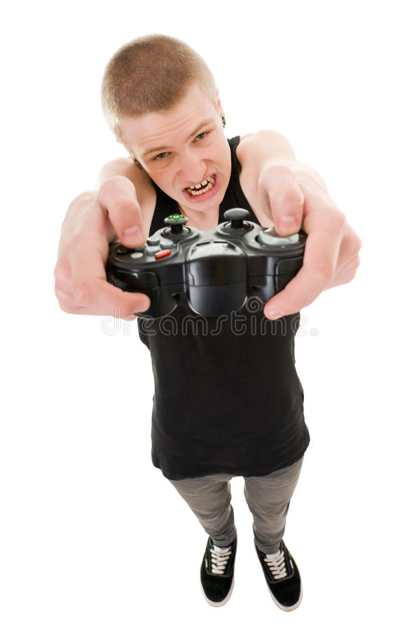Funny teenager stock images