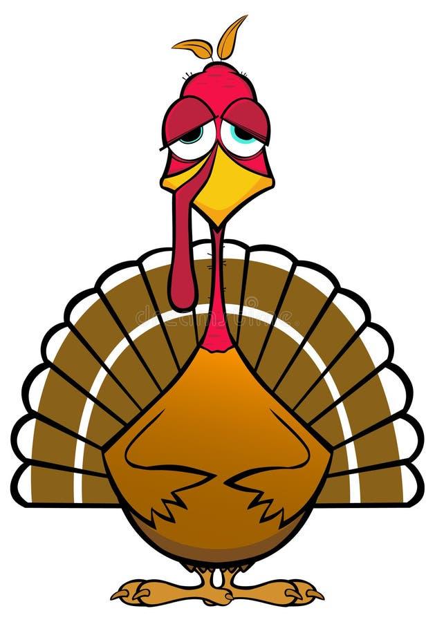 funny turkey stock illustration illustration of funny 21726132 rh dreamstime com silly turkey clip art funny thanksgiving clip art images