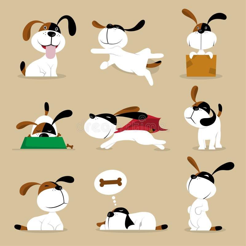Funny vector doggy Illustrations stock illustration