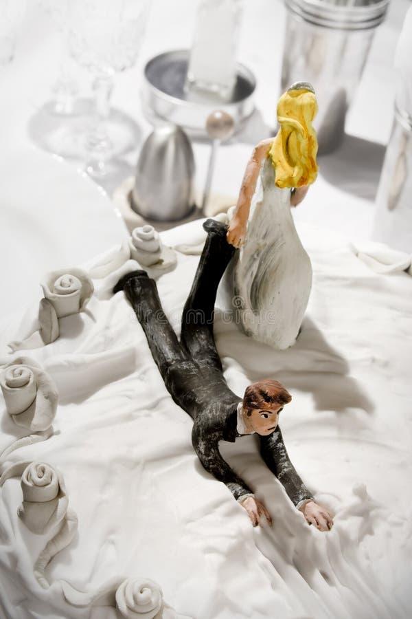 Funny wedding cake figurines stock image image 13726441 download funny wedding cake figurines stock image image 13726441 junglespirit Images