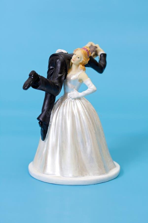 Funny Wedding Cake Topper Stock Image Image Of Bride