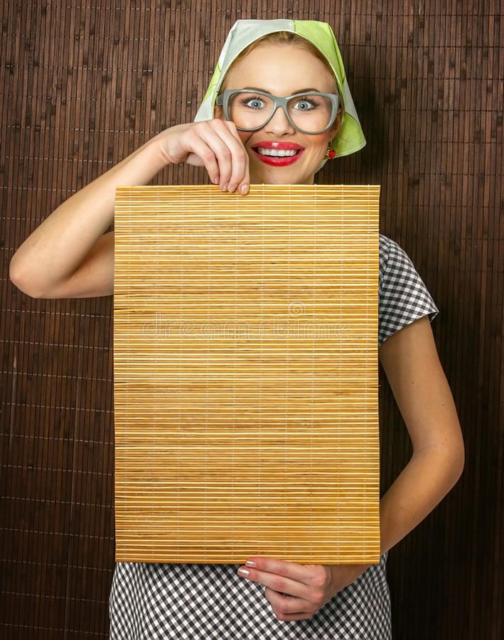 Free Funny Woman Cook Royalty Free Stock Image - 27419406