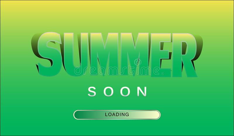 Funny yellow green banner with the inscription summer soon vector download funny yellow green banner with the inscription summer soon vector stock vector voltagebd Choice Image