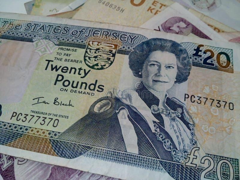20 funtów obrazy royalty free