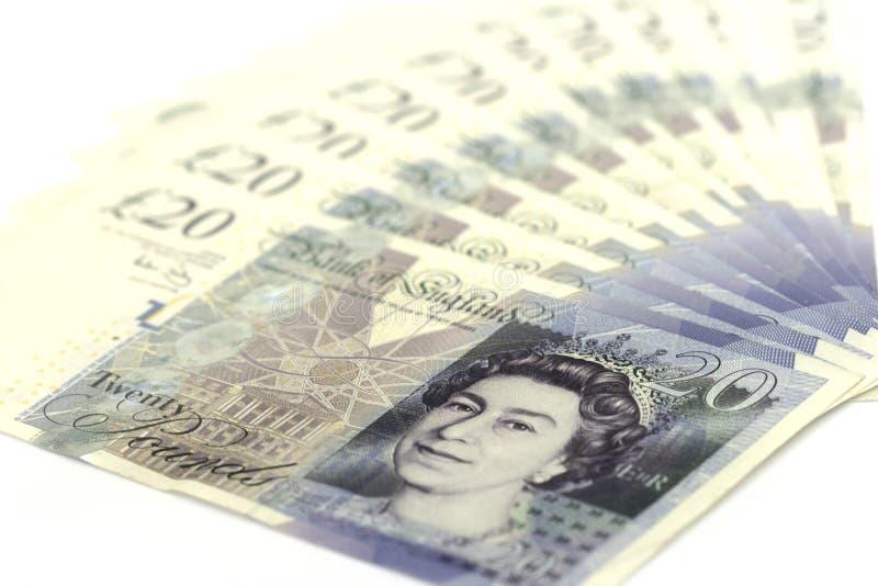 funtów brytyjskich zdjęcia royalty free