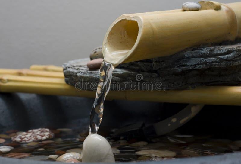 Funtain do zen imagens de stock