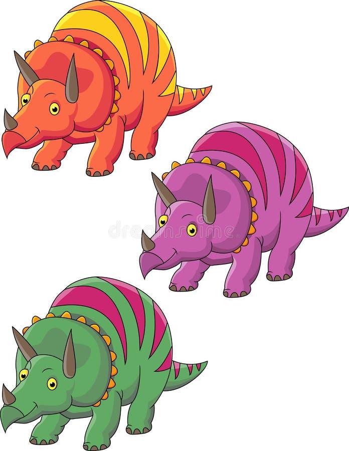 Download Funy Dinosaur cartoon stock vector. Illustration of dinosaur - 24706348