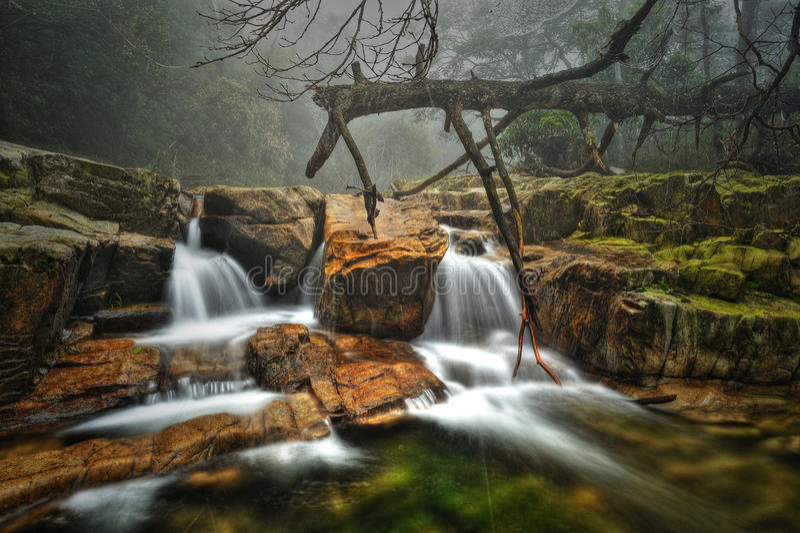Funzionamento dell'acqua fotografie stock libere da diritti