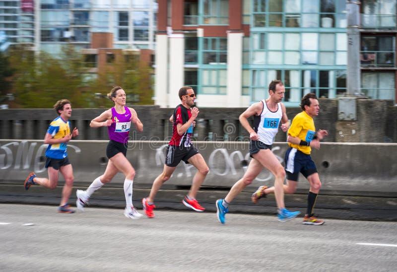 Funzionamento 2013 di Sun di Vancouver immagine stock
