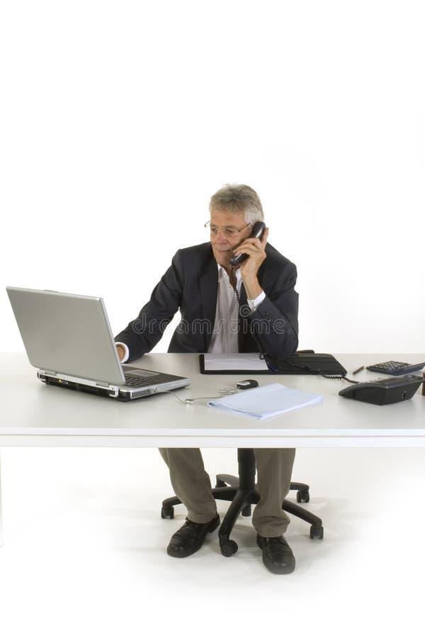 Download Funzionando all'ufficio immagine stock. Immagine di rappresentante - 7317265