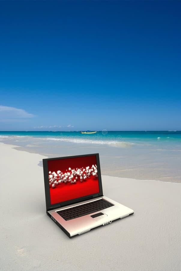 Funzionando alla spiaggia