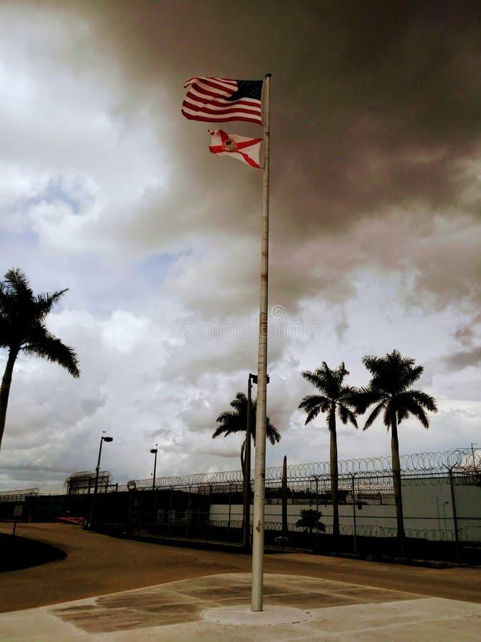 Funzione di riabilitazione e di Moore Haven Correctional, U.S.A. immagine stock libera da diritti