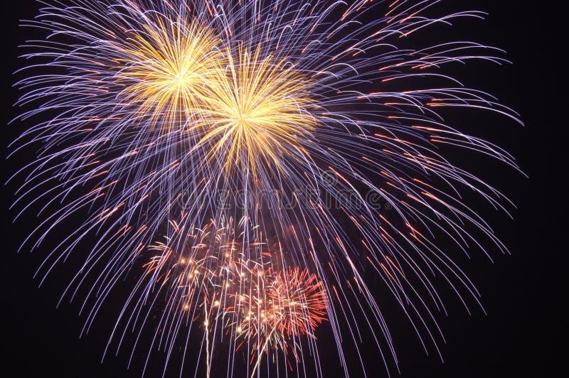 Fuochi d'artificio 136 fotografie stock