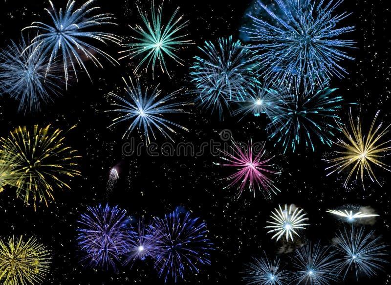 Fuochi d'artificio #2 fotografia stock libera da diritti