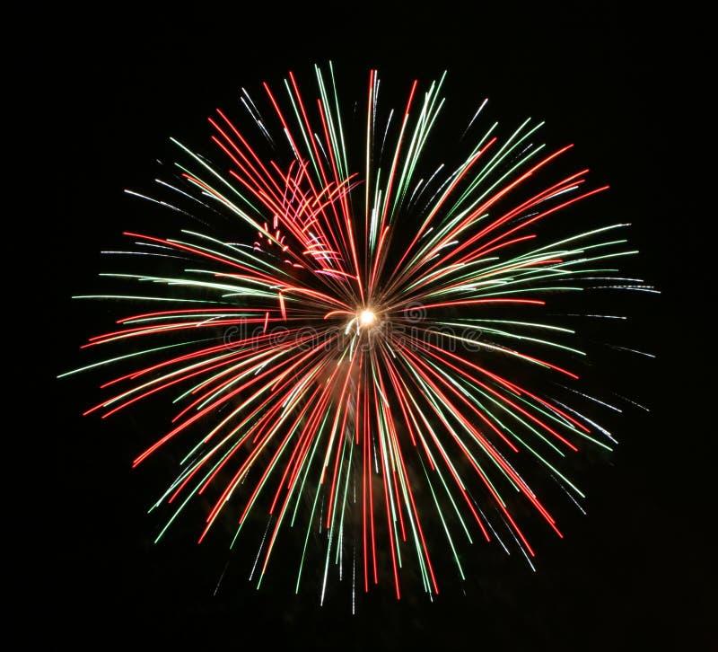 Download Fuochi d'artificio immagine stock. Immagine di quarto, scena - 208899