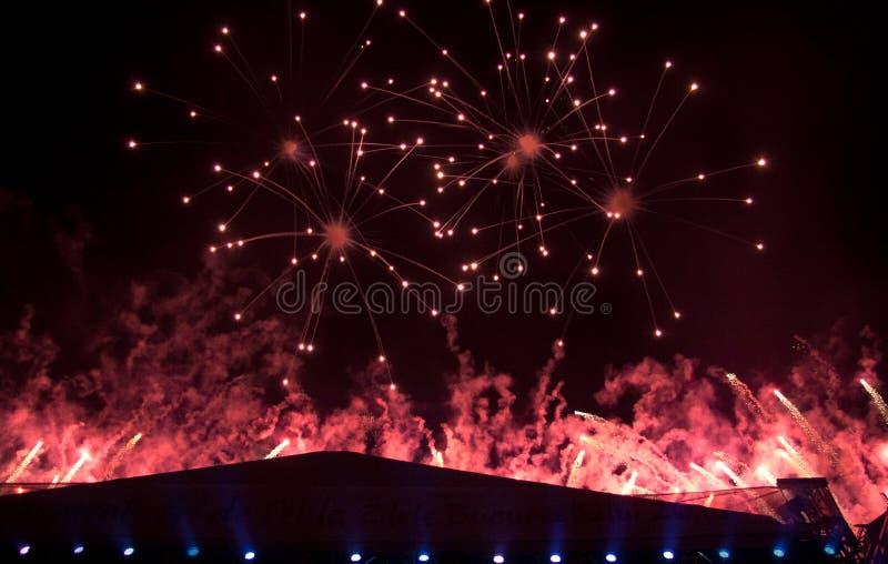 Fuochi D Artificio Fotografia Stock