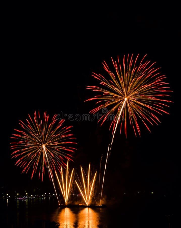 Fuochi d'artificio immagine stock