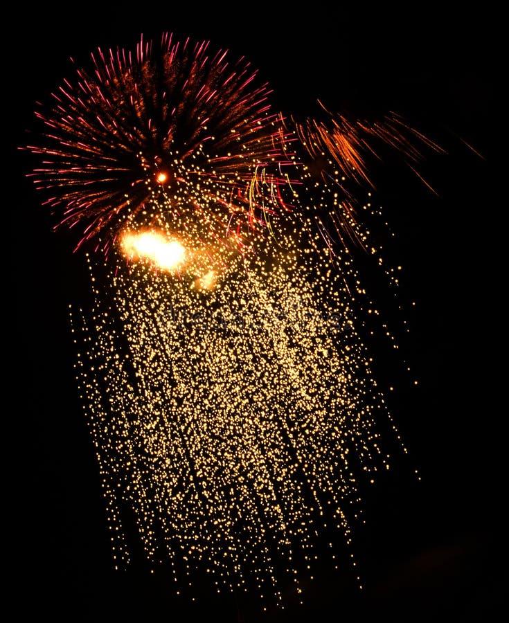 Fuochi D Artificio Fotografie Stock Libere da Diritti