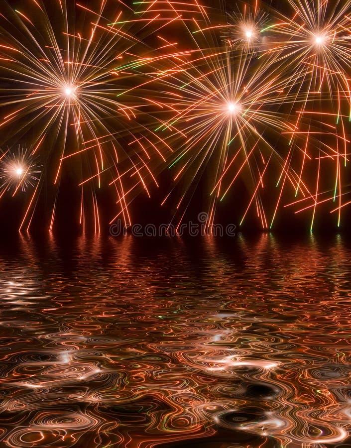 Fuochi d'artificio 68 immagine stock libera da diritti