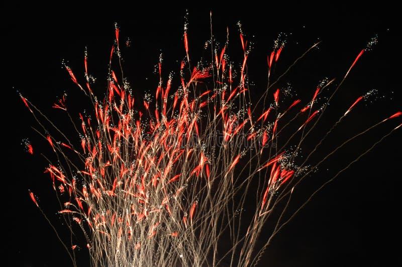 Fuochi D Artificio Fotografie Stock