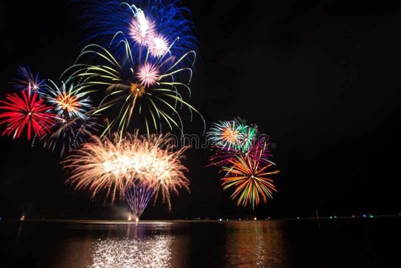 Fuochi d'artificio Colourful immagine stock libera da diritti