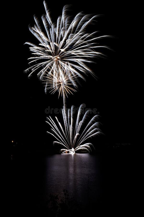Fuochi d'artificio II fotografia stock